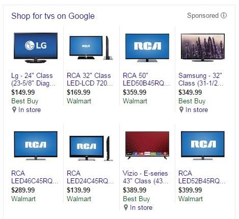 TVs on Google